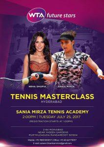 SMTA Tie Up with WTA - Neha Dhupia - Sania Mirza - Tennis - PR Management by 3Mark Services