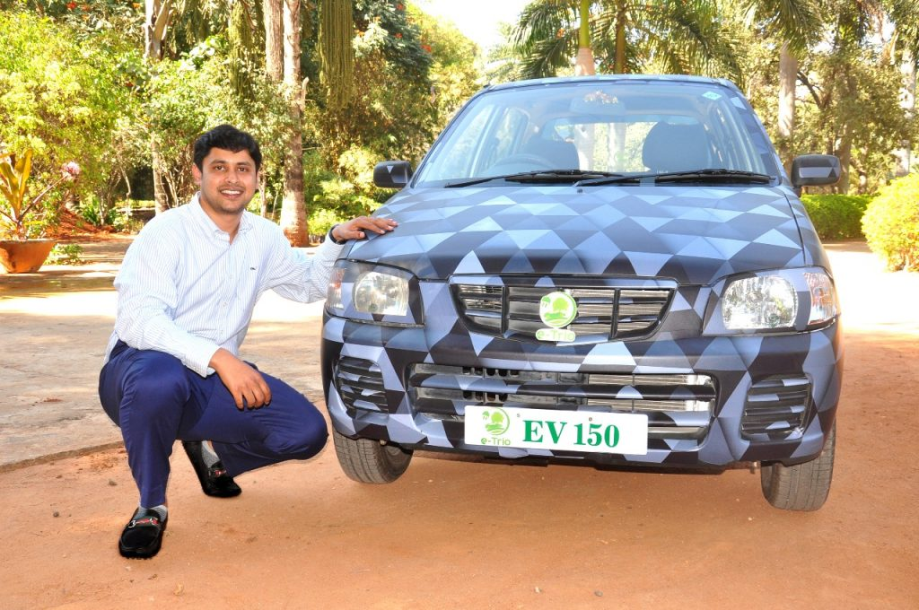 ed4b1e9f75fb4 E-trio launching Retrofitted Cars in India | 3Mark Services